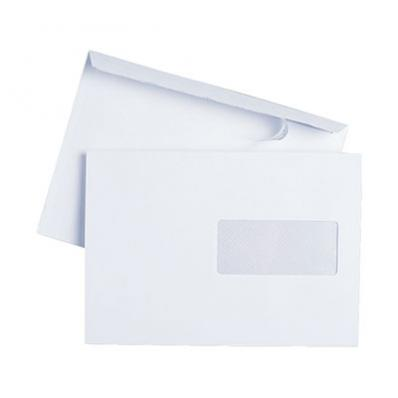 Image C5 WHITE WINDOW ENVELOPE 90GSM SUPENV0047 01