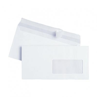 Image DL WHITE WINDOW ENVELOPE 90GSM SUPENV0003 01
