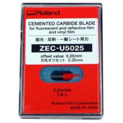 Image 45/.25 Offset Blade, 5ea. Standard Materials SUPGRA0281 01